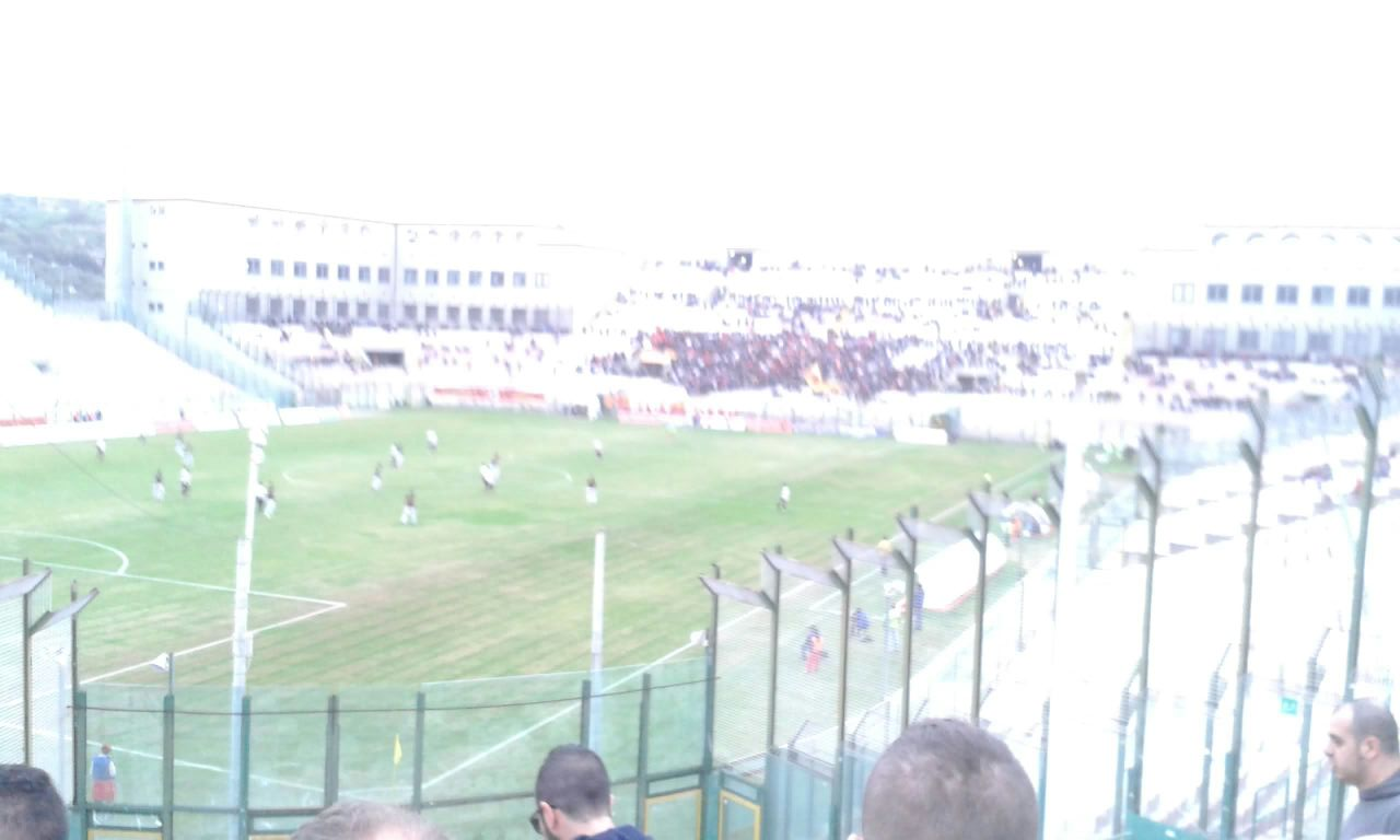 Calcio partita Messina - Catanzaro