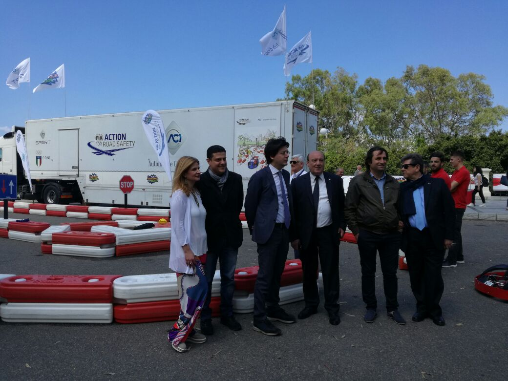 Karting in piazza (2)